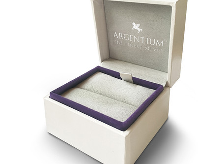 Luxury Argentium Branded Jewellery Boxes