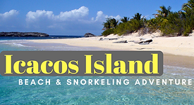 Icacos Island beach and Snorkeling