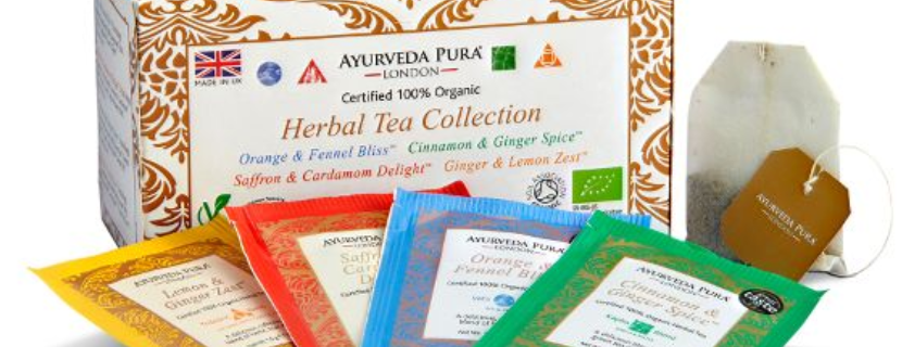 Herbal Tea Collection™ Box- Four unique wellbeing blends