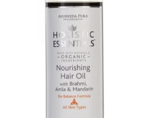 Nourishing Hair Oil with Brahmi and Amla and Mandarin - 200ml