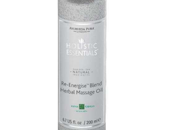 Re-Energising Blend Herbal Massage Oil - Kapha Formula 200ml