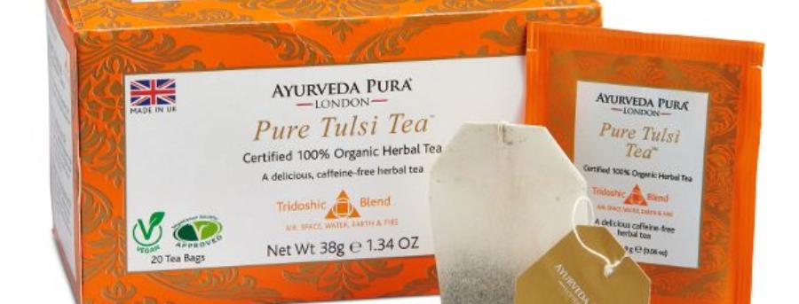 Pure Tulsi Tea™ - Tridoshic Blend - Box