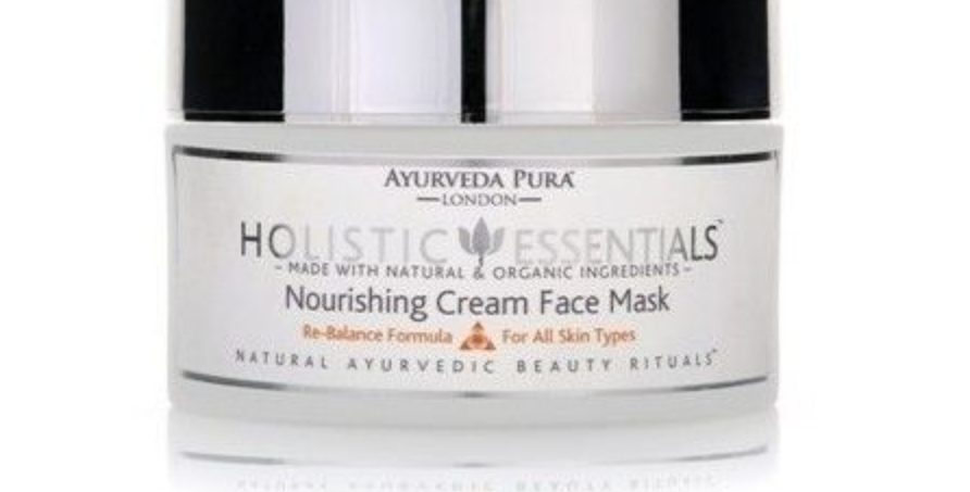 Nourishing Cream Face Mask Re Balance Formula Tridoshic