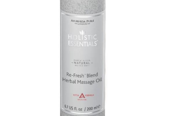 Re-Fresh Blend Herbal Massage Oil - Pitta Formula - 200ml