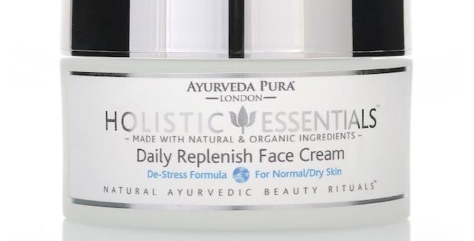 Daily Replenish Face Cream De-Stress Formula Vata