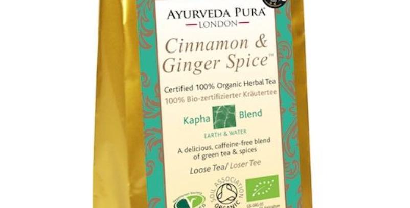 Cinnamon & Ginger Spice™ - Certified Organic Herbal Tea - Kapha - 50g Loose