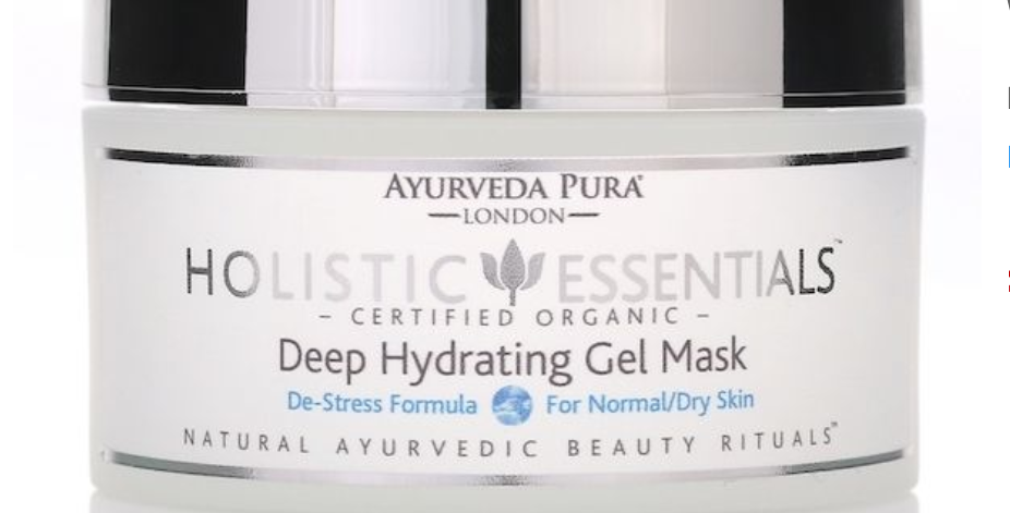 Deep Hydrating Gel Mask De-Stress Formula Vata