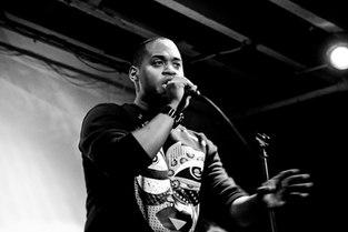 Barron B. Bass (BBass) performs