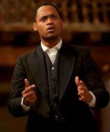 Barron B. Bass, Actor, at Shakespeare's Globe
