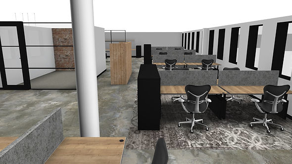 PvB SCORE rendering open space office 1e