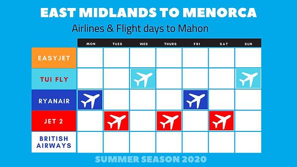 East Midlands Airport to Menorca 2020.jp