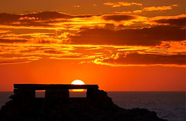 Punta Nati Lighthouse Sunset Menorca.JPG