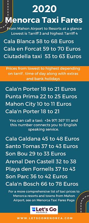 Menorca Taxi Fares 2020.png