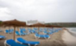 Son Bou beach Menorca