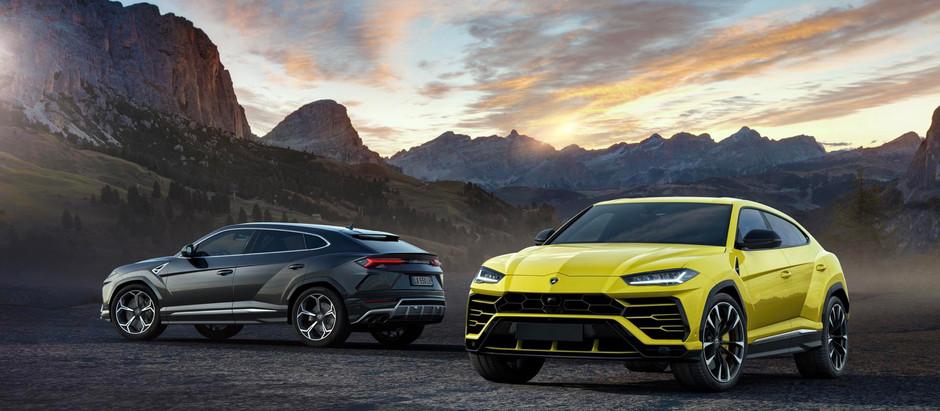 The Lamborghini Urus is here!