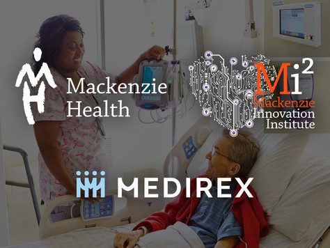 Medirex partners with Mackenzie Innovation Institute