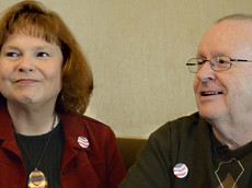Phyllis and Dwight Addison, Indianapolis, IN State Police Administrator and Future Certified Financial Planner