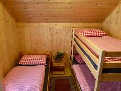 Dreibettzimmer auf der Griebitsch Al