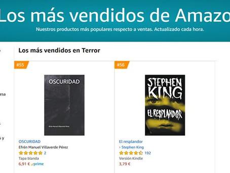 Oscuridad entre los más vendidos de Amazon