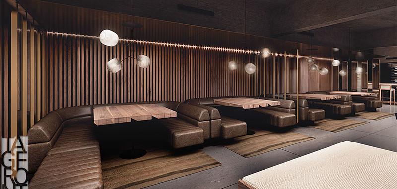 Conference Room Restaurant & Bar Booths