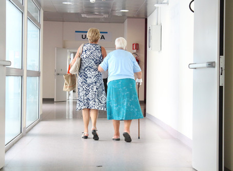 NY allowing family nursing home visits for first time since pandemic