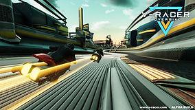 V Racer Hoverbike Krypton VR Lounge