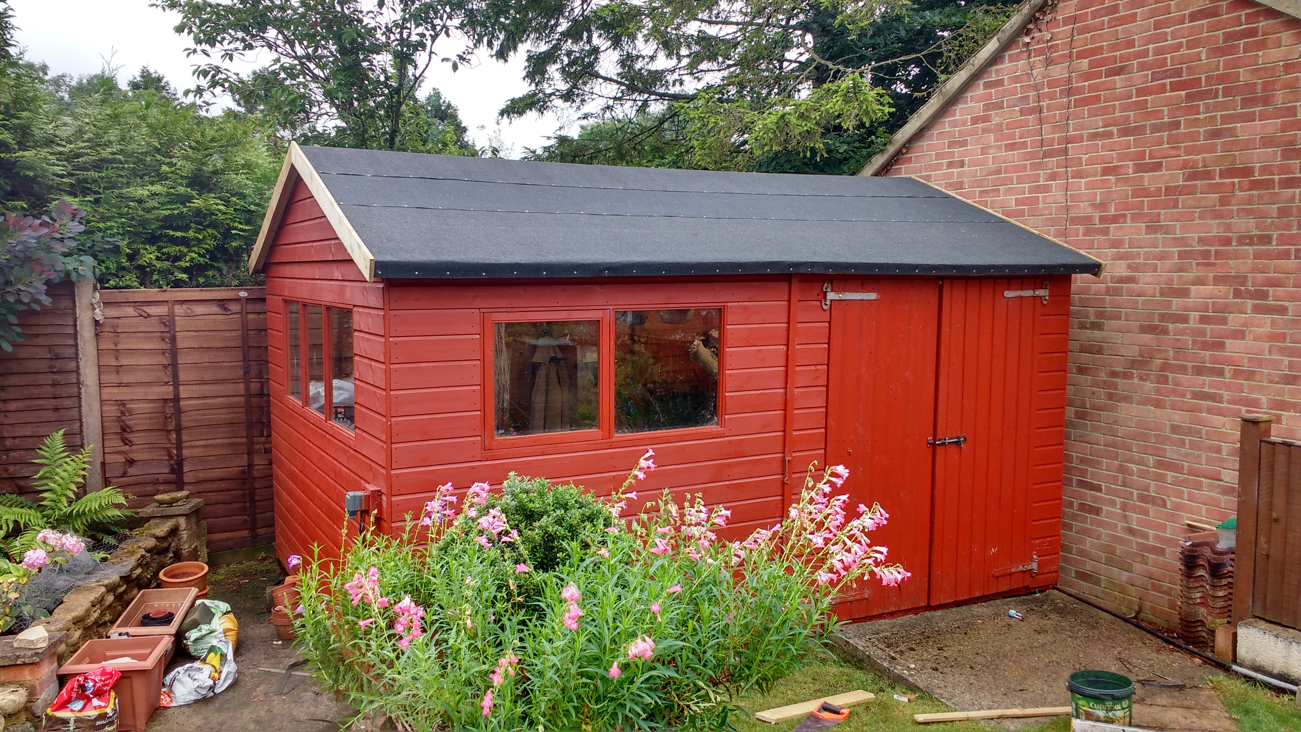 Shed refurbishment
