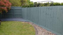 Fence spraying service