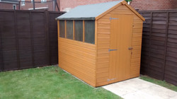 Shed painting