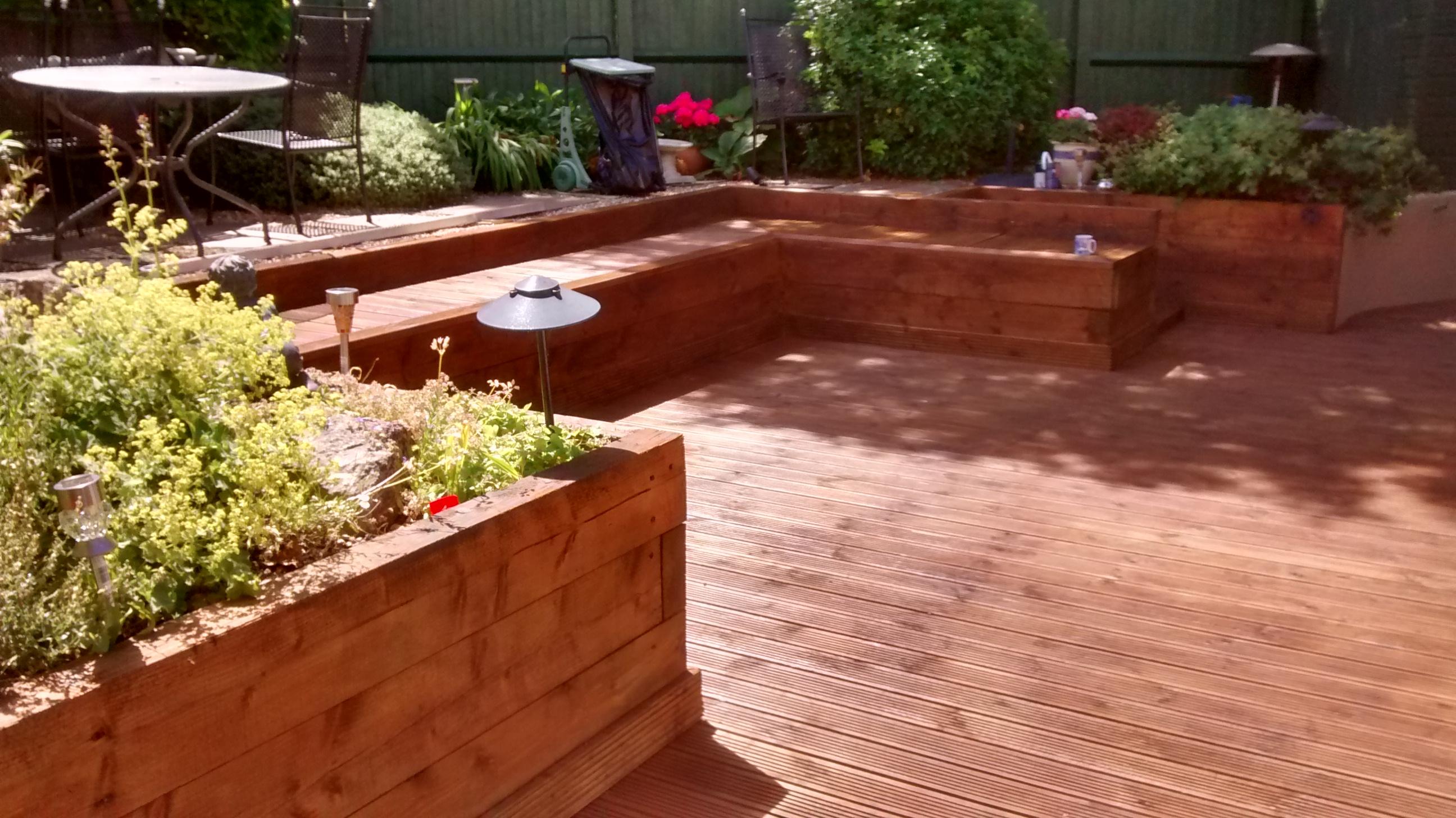 Deck installation & Painting