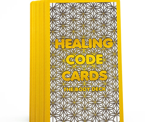 Healing Code Cards - Body Deck (Digital Edition: English & Spanish)