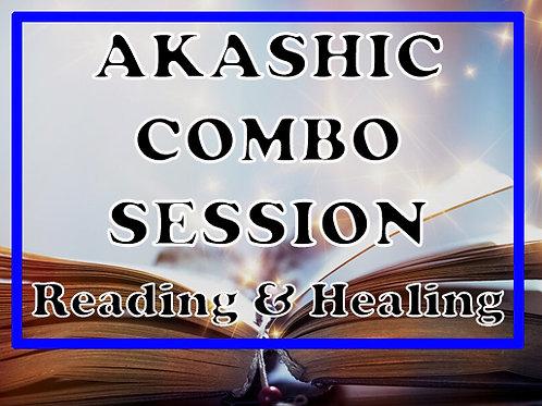 Akashic Combo Session (Reading + Healing)