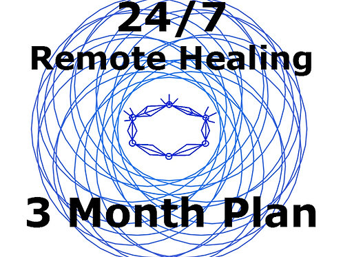 3 Month Plan - 24/7 Remote Healing Service
