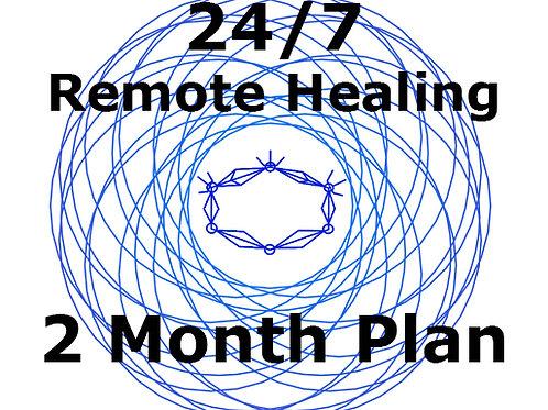 2 Months Plan - 24/7 Remote Healing Service