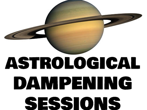 Astrological Dampening Sessions (All 3 Sessions)