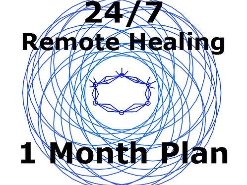 1 Month Plan - 24/7 Remote Healing Service