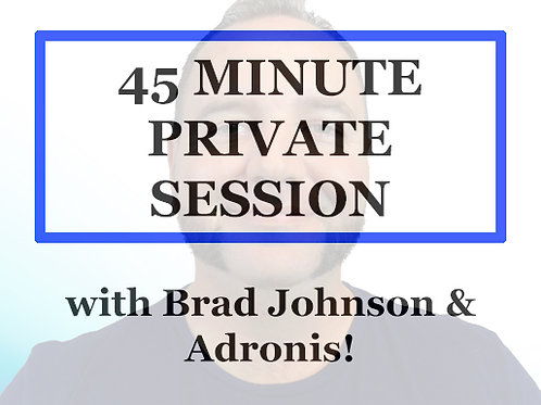 45 Minute Private 1 on 1 Session