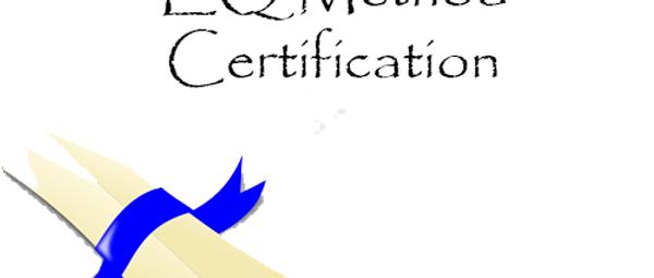 EQ Method Practitioner Certification
