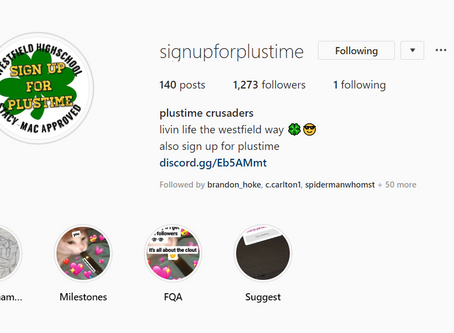 EXCLUSIVE: Interview with @signupforplustime