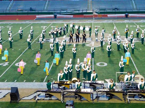 The Shamrock Pride Marching Band Earns Their Passport in Music