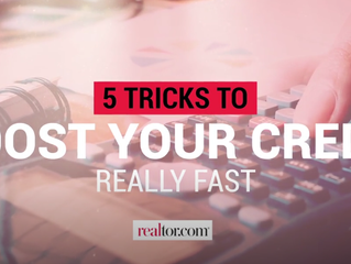 5 Tricks to Boost Your Credit