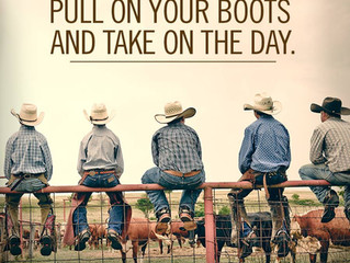 Pull on your boots and take on the day.