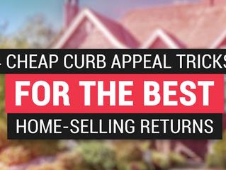 4 Cheap Curb Appeal Tricks