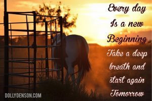 Every day is a new beginning.  Take a deep breath and start again tomorrow.