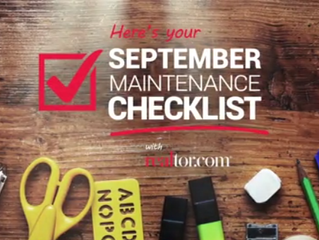 5 Home Maintenance Tasks to Remember This September