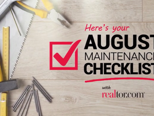 Keep the Livin' Easy: 5 August Maintenance Tasks to Tackle ASAP