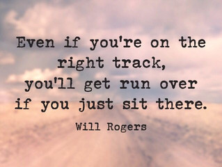 Even if you're on the right track...