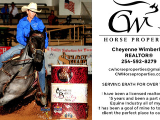 CW Horse Properties located in the Cowboy Capital