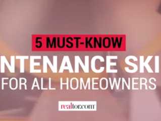 5 Must Know Maintenance Skills
