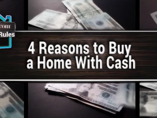 4 Reasons to Buy a Home with Cash